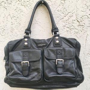 Liebeskind Berlin Leather bag tote purses black